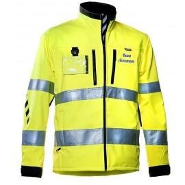 Сигнальная куртка Softshell Dimex 688