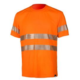Сигнальная футболка Dimex 4059+