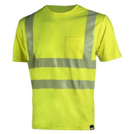 Сигнальная футболка Dimex 4338+