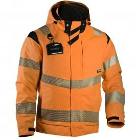 Зимняя куртка Slim-Fit Dimex 6059R, сигнальный оранжевый/черный