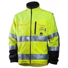 Сигнальная куртка Dimex 684 со съемными рукавами