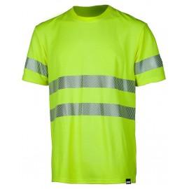 Сигнальная футболка Dimex 4058+